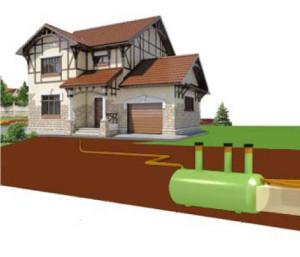 монтаж канализации септик