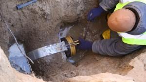 процесс монтажа канализации в Тюмени