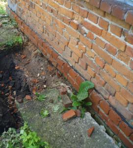плохая канализация подтопила фундамент